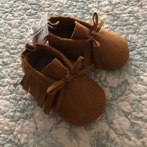 Other - Baby girl moccasins 0-3 months🍂🍁